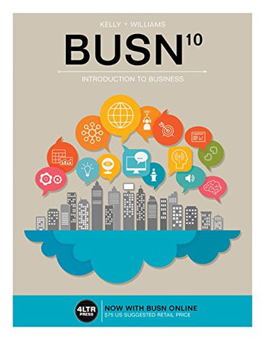 BUSN (with BUSN Online, 1 term (6 months) Printed Access Card) (New, Engaging Titles from 4LTR Press)