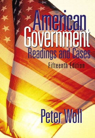 American Government: Readings and Cases (15th Edition)