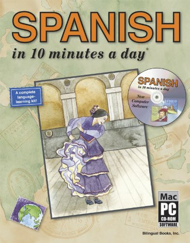 SPANISH in 10 minutes a day® with CD-ROM