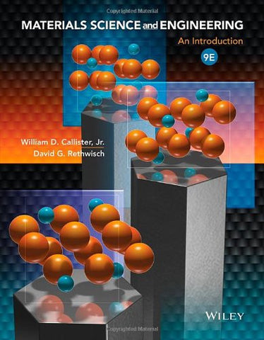 Materials Science and Engineering: An Introduction
