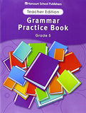 Storytown: Grammar Practice Book Teacher Edition Grade 5