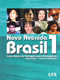 Novo Avenida Brasil: Book/exercise book/CD 1 (Portuguese Edition)