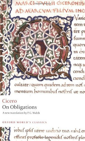 On Obligations: De Officiis (Oxford World's Classics)