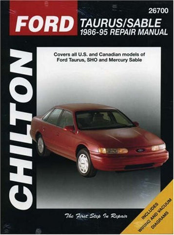 Ford Taurus and Sable, 1986-95 (Chilton Total Car Care Series Manuals)