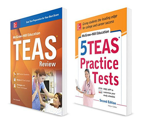McGraw-Hill Education TEAS Value Pack (Test Prep)