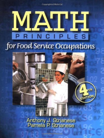 Math Principles for Food Service