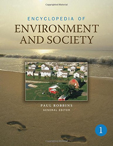 Encyclopedia of Environment and Society (5 Volume Set)