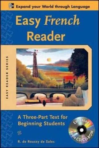 Easy French Reader w/CD-ROM: A Three-Part Text for Beginning Students (Easy Reader Series)