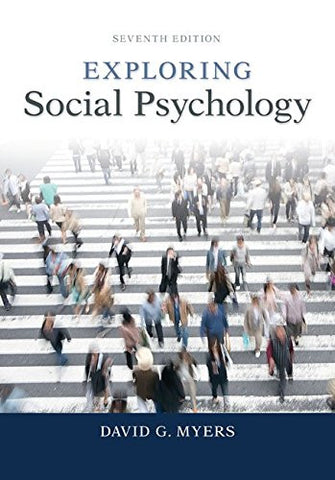 Exploring Social Psychology (B&B Psychology)