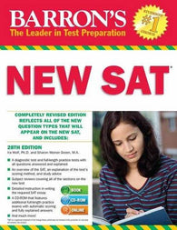 Barron's NEW SAT with CD-ROM, 28th Edition (Barron's Sat (Book & CD-Rom))