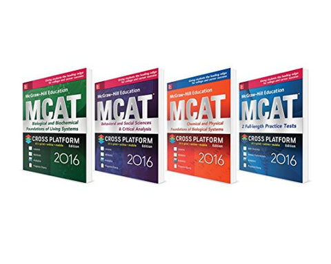 McGraw-Hill Education MCAT 2016 Value Pack (Mcgraw-Hill Education Mcat Test Preparation)