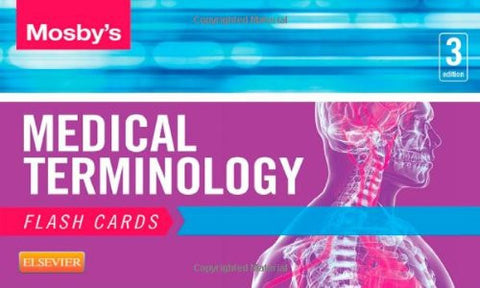 Mosby's Medical Terminology Flash Cards, 3e