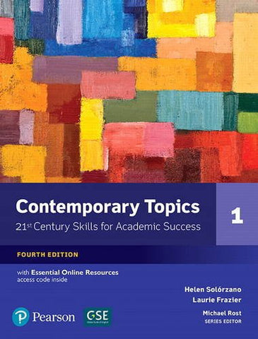 NEW EDITION: Contemporary Topics 1 with Essential Online Resources (4th Edition)