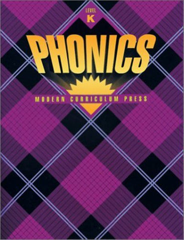 MCP PLAID PHONICS LEVEL K FULL COLOR 1995 COPYRIGHT