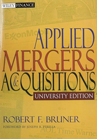 Applied Mergers and Acquisitions University Edition with Student Workbook Set