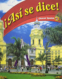 Glencoe Spanish, Level 2: Asi Se Dice! (Spanish Edition)