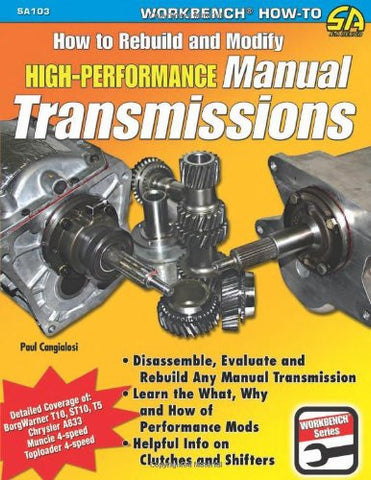 How to Rebuild & Modify High-Performance Manual Transmissions (Workbench How to)