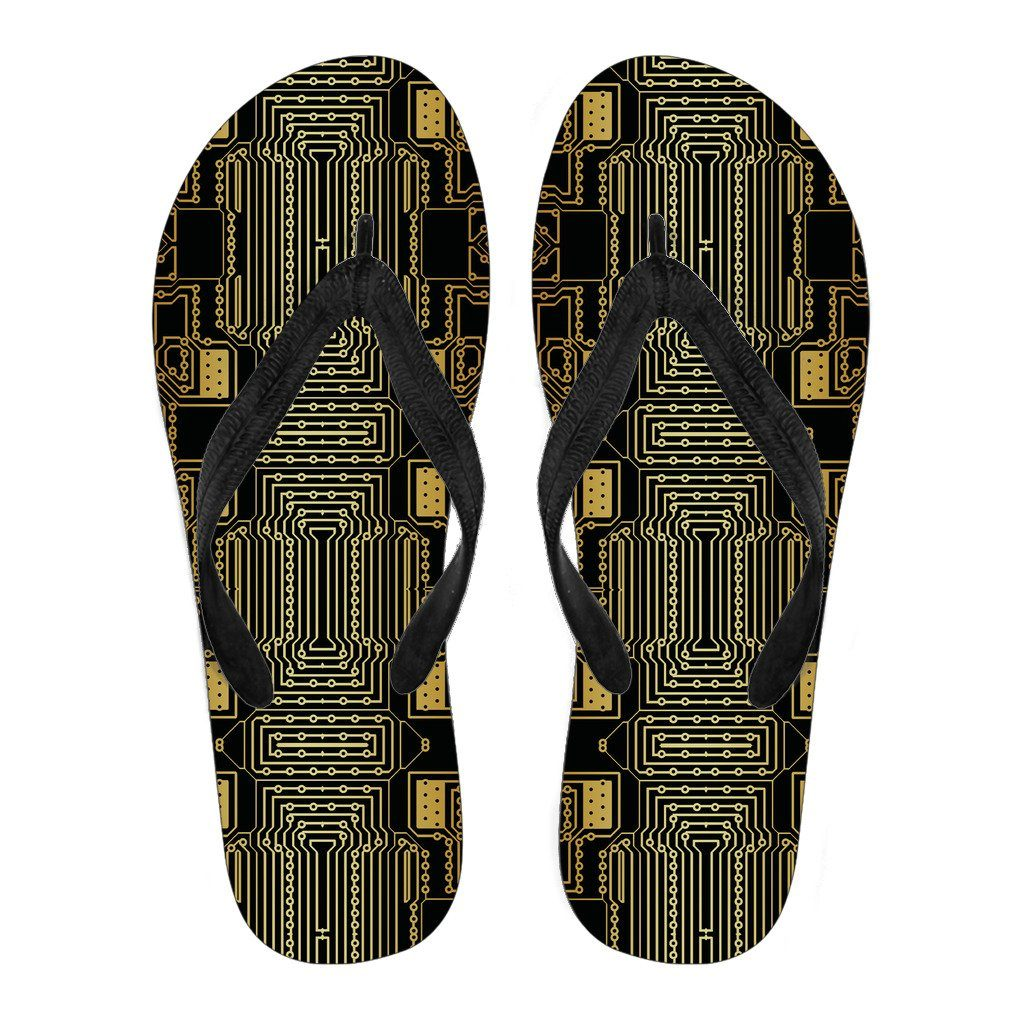 Yellow Circuit Flip Flops
