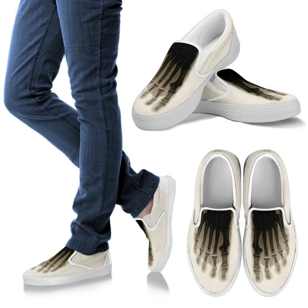 X-ray Foot Beige Men's Slip Ons