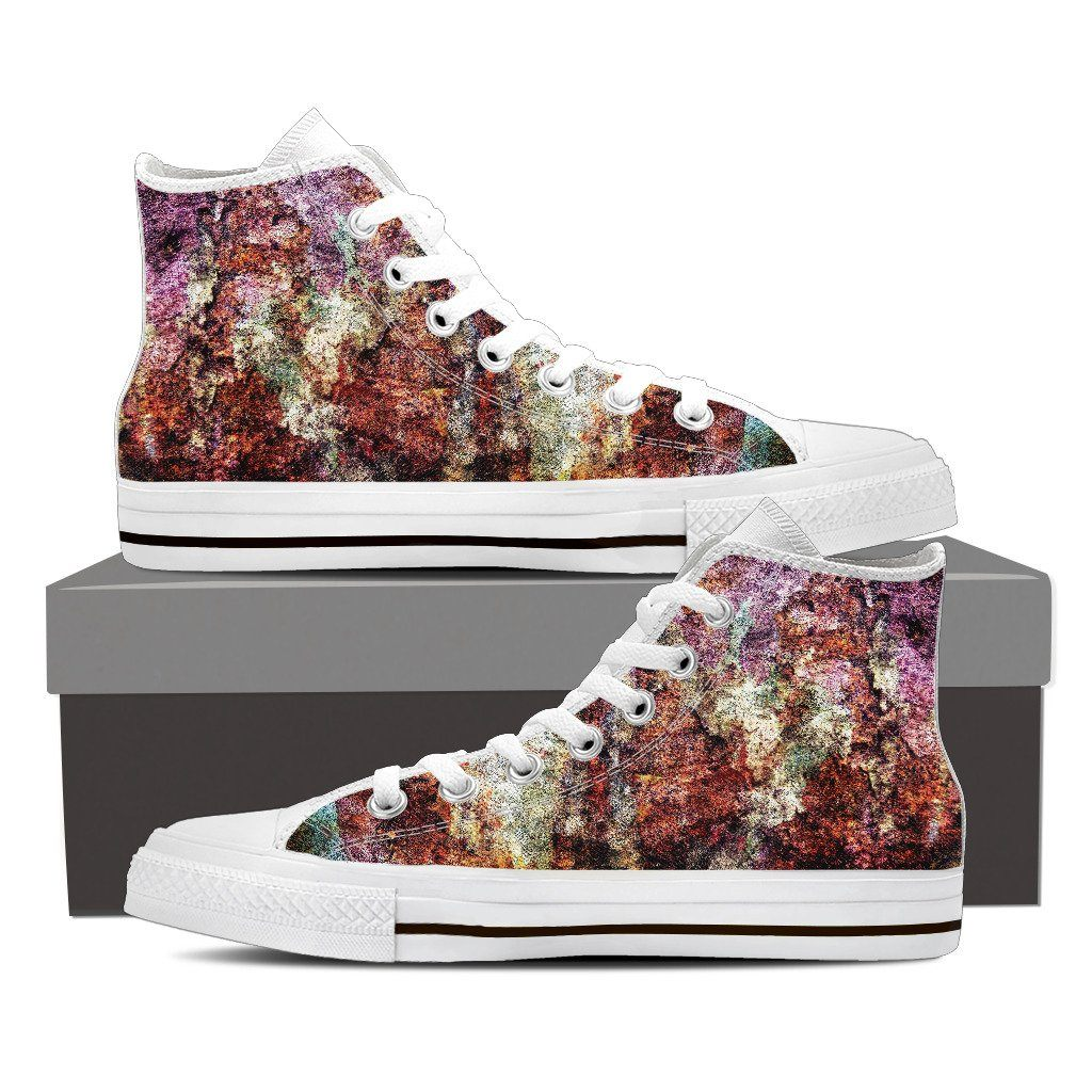 Rusty Women's High Top Canvas Shoe