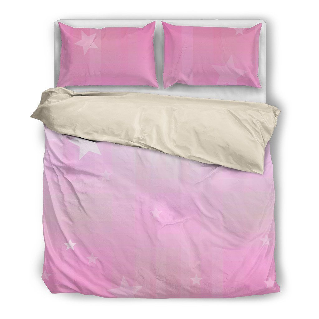 Pink Light Bedding Set