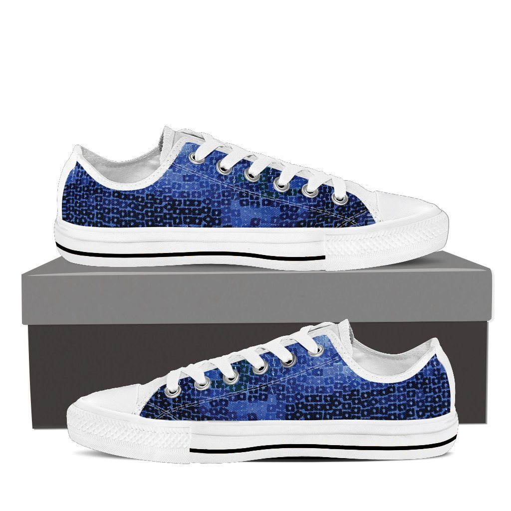 Sequins Men's Low Top Shoes