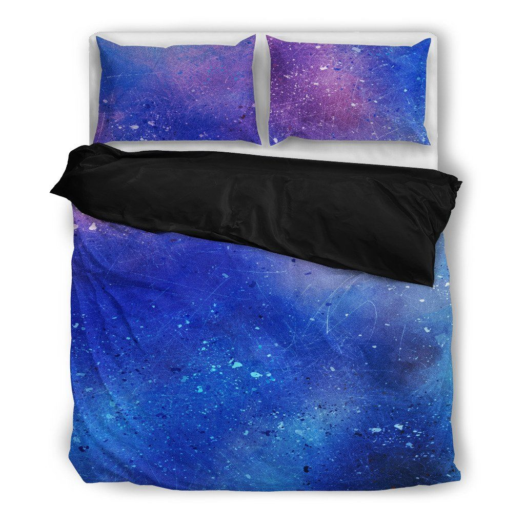 Watercolor Galaxy Bedding Set