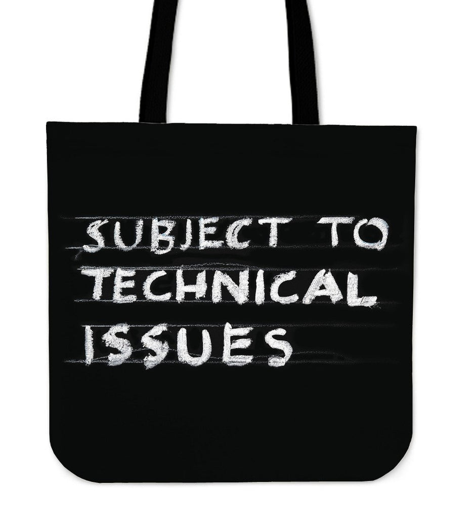 Technical Issues Tote Bag