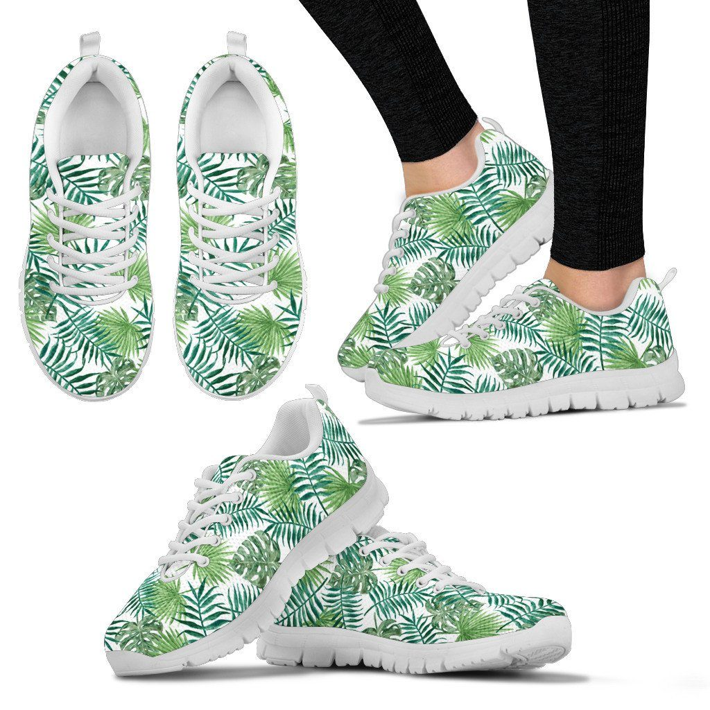 Tropical Leaves Women's Sneakers
