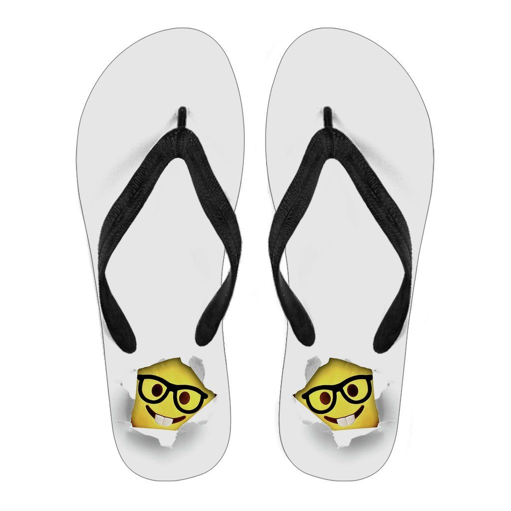 Smiley Women's Flip Flops