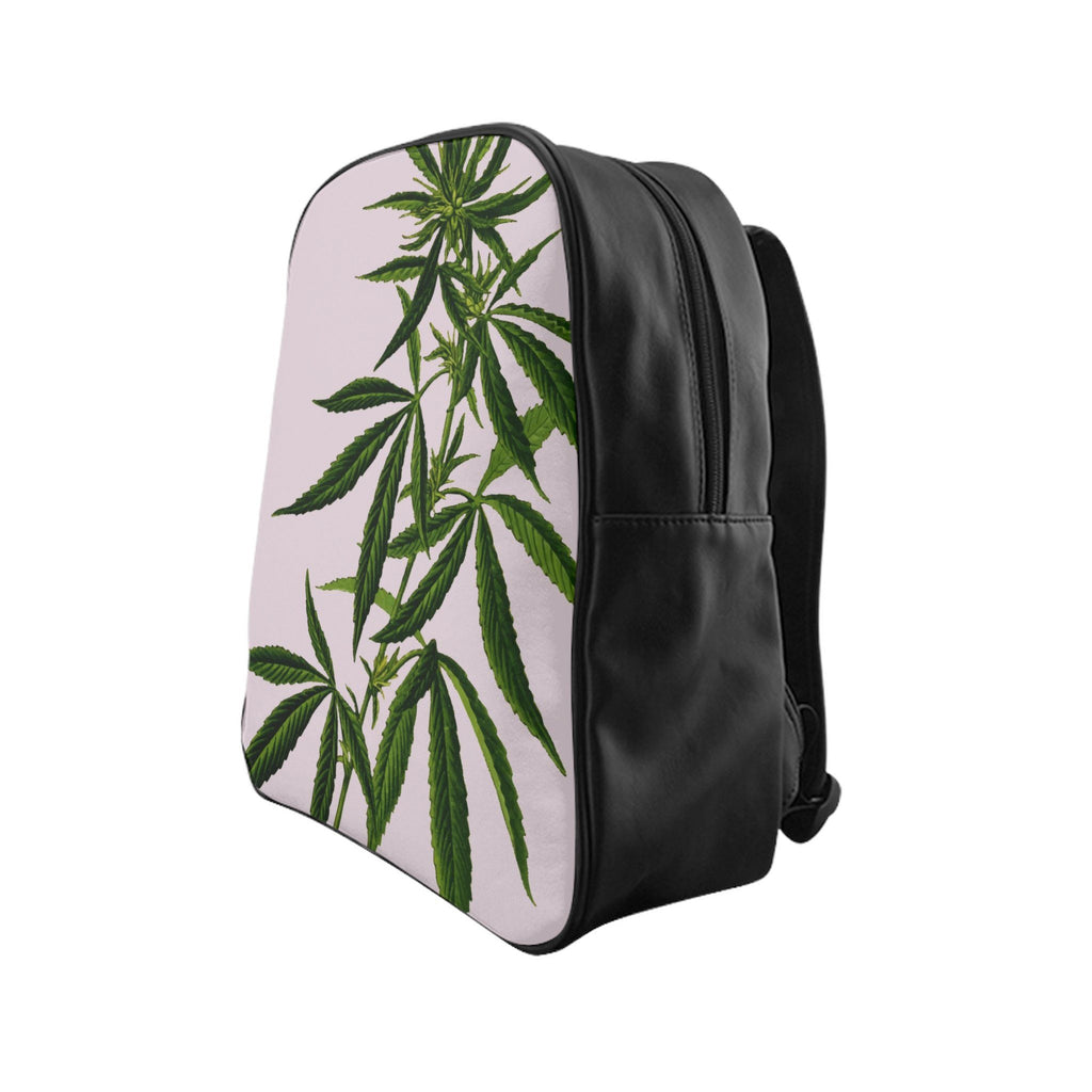 Weed (Pink) School Backpack