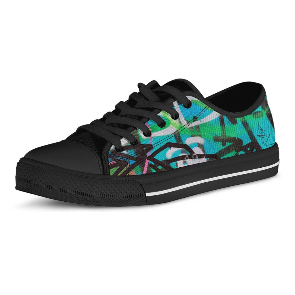Vandals Men's Low Top Canvas Shoe