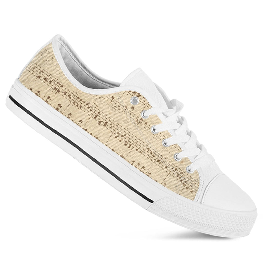 Musical Sheet Women's Low top Shoe
