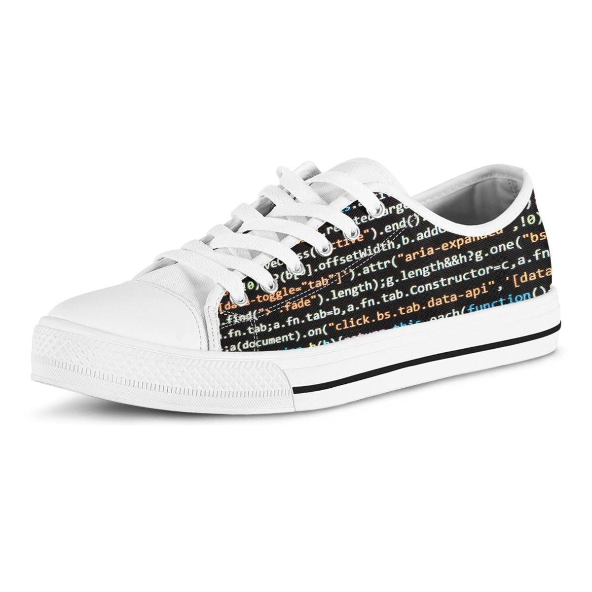 9e465d3a969478 Programmer s Codes Canvas Shoes