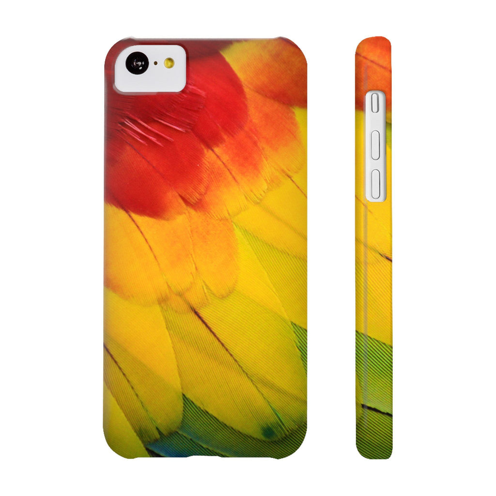 Parrot Feathers Phone Cases