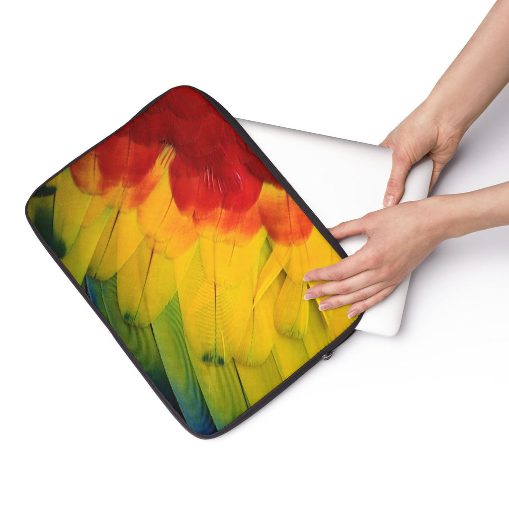 Parrot feathers Laptop Sleeve