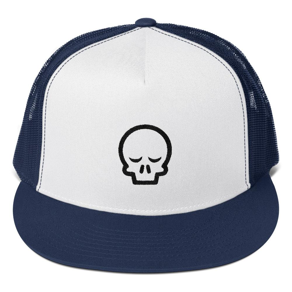 Sleepy Skull Trucker Cap