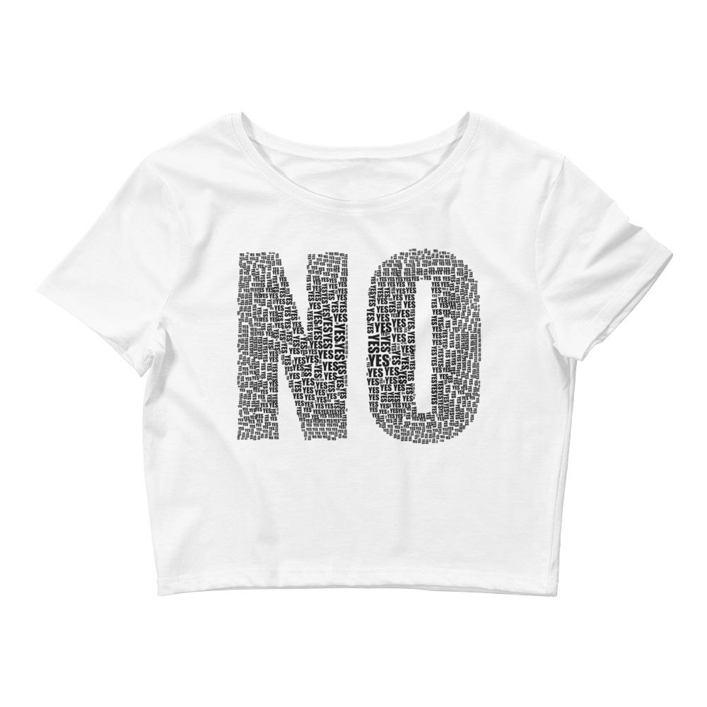 Yes No Women's Crop Top