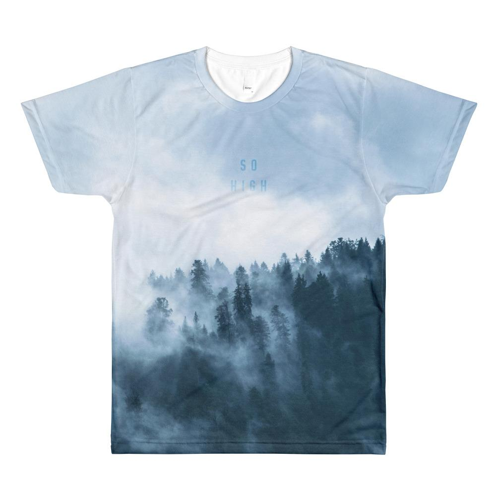 So High Sublimation men's crew neck t-shirt