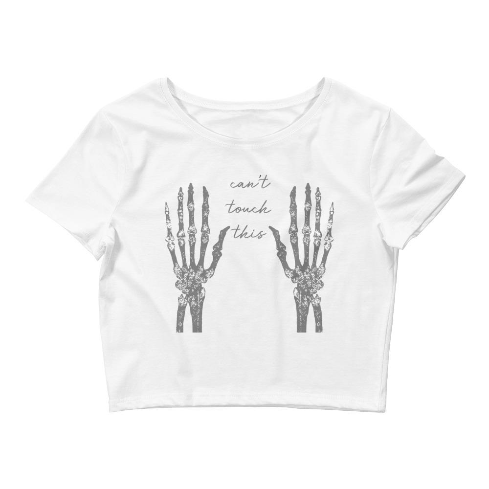 Naughty Hands Women's Crop Top