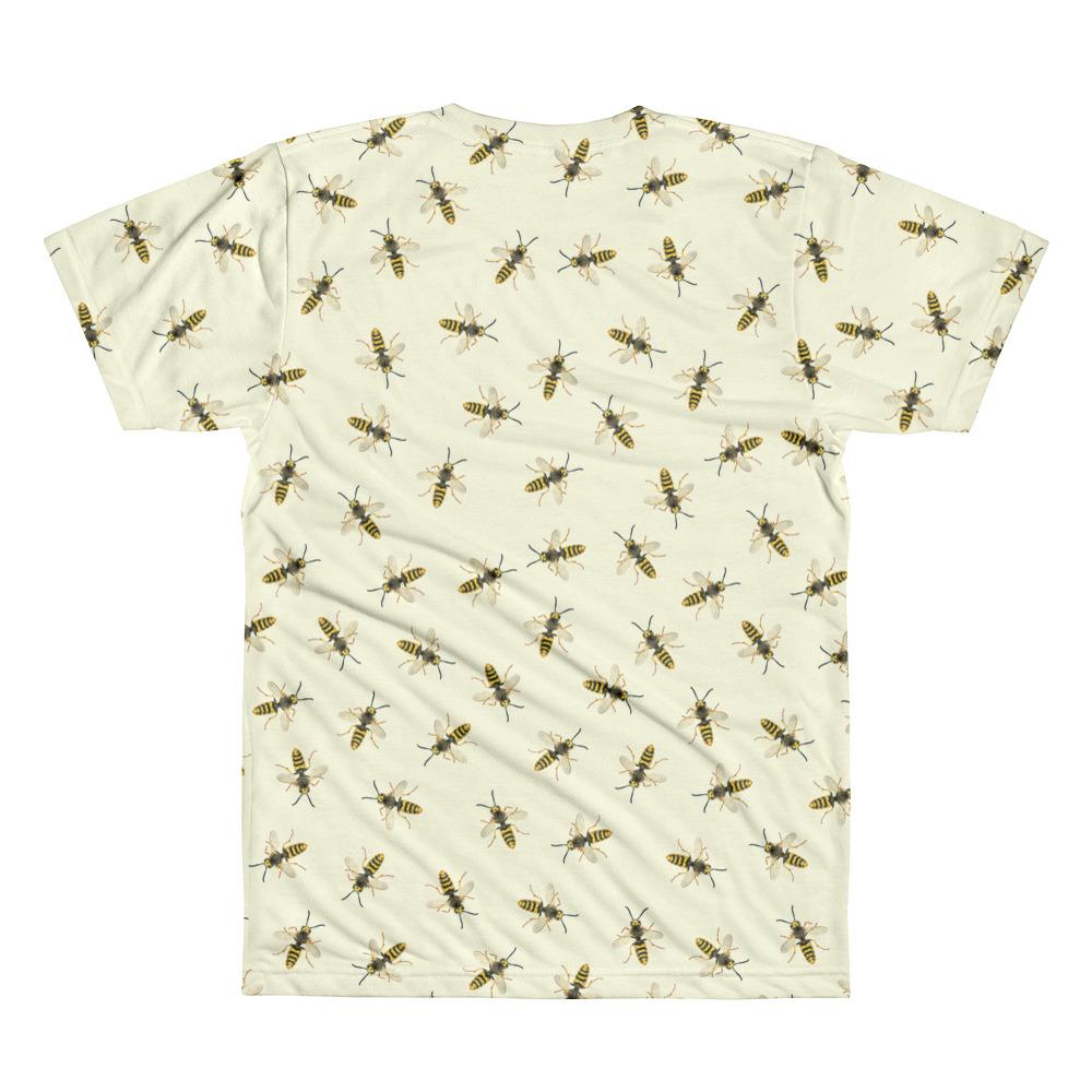 Wasps Sublimation men's crew neck t-shirt