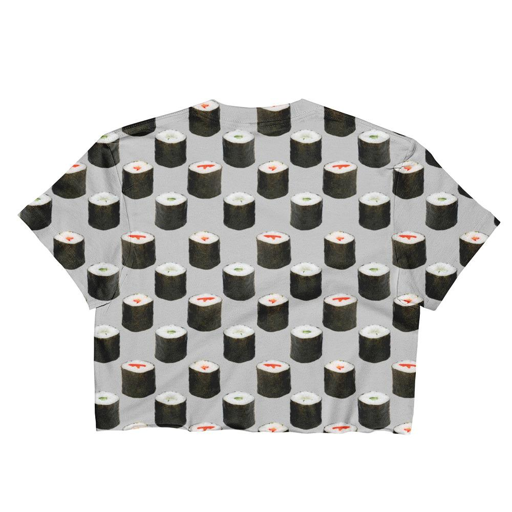 Sushi Sublimation Crop Top