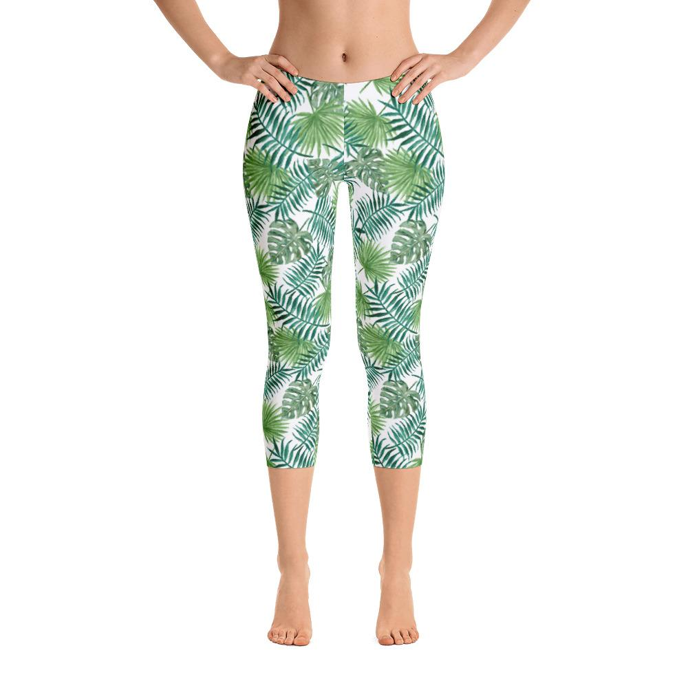Tropical Capri Leggings