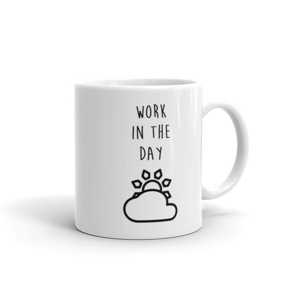 Work and Party Mug made in the USA