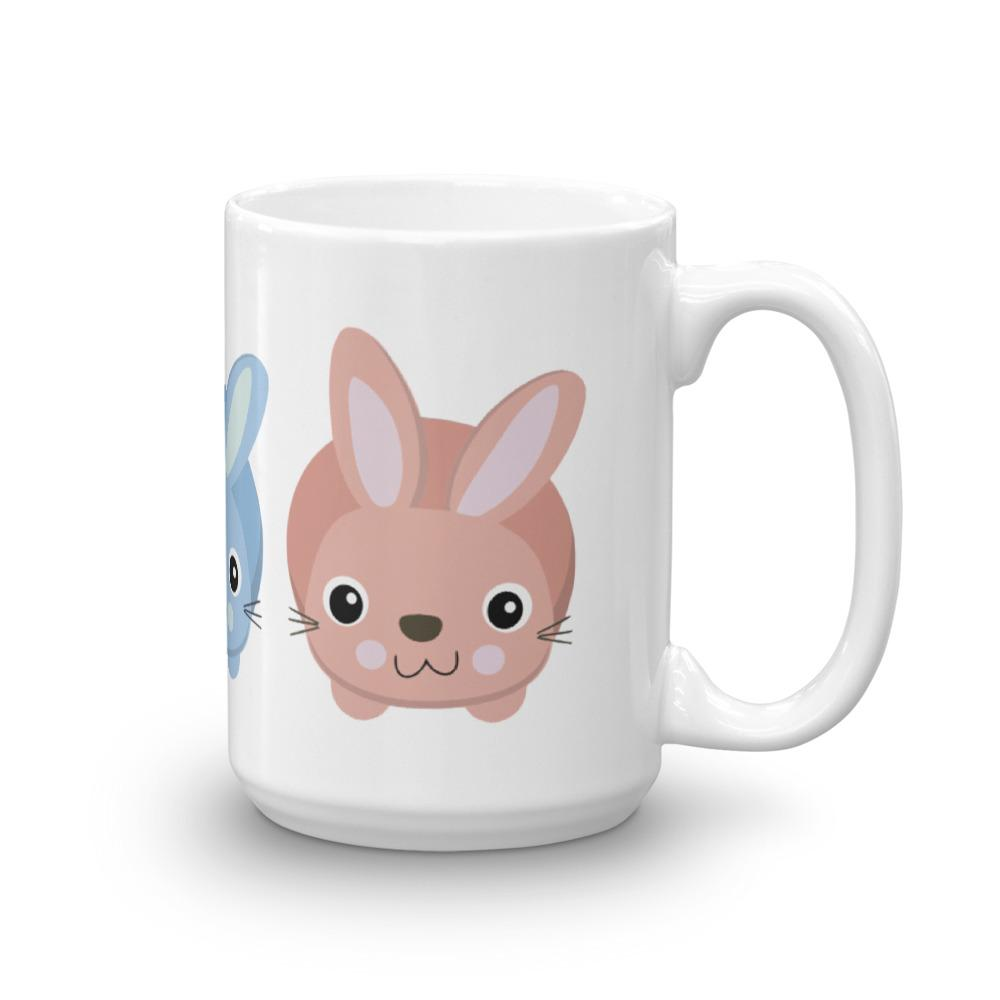 Rabbits Mug made in the USA
