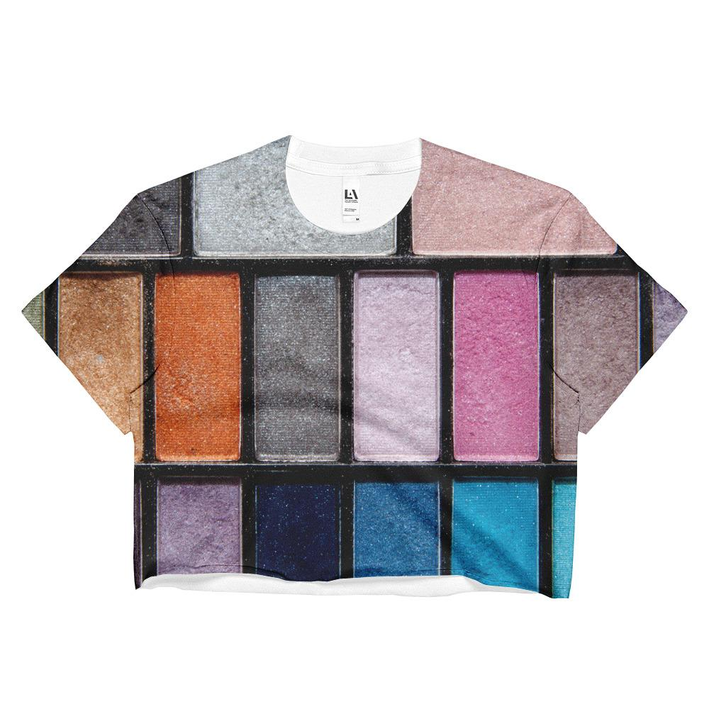 Palette Sublimation Crop Top