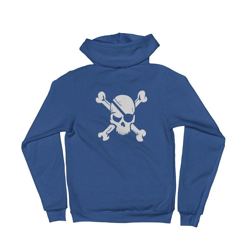 Pirate Skull Hoodie sweater