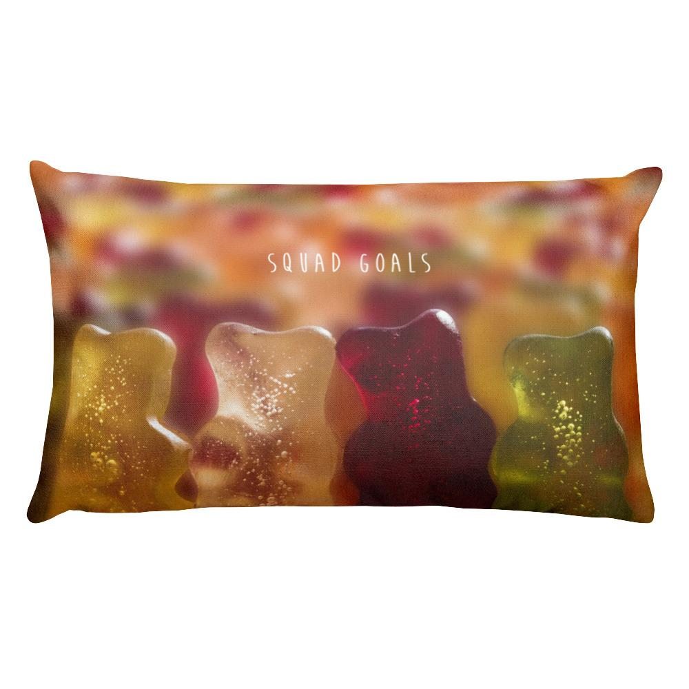 Squad Goals Rectangular Pillow
