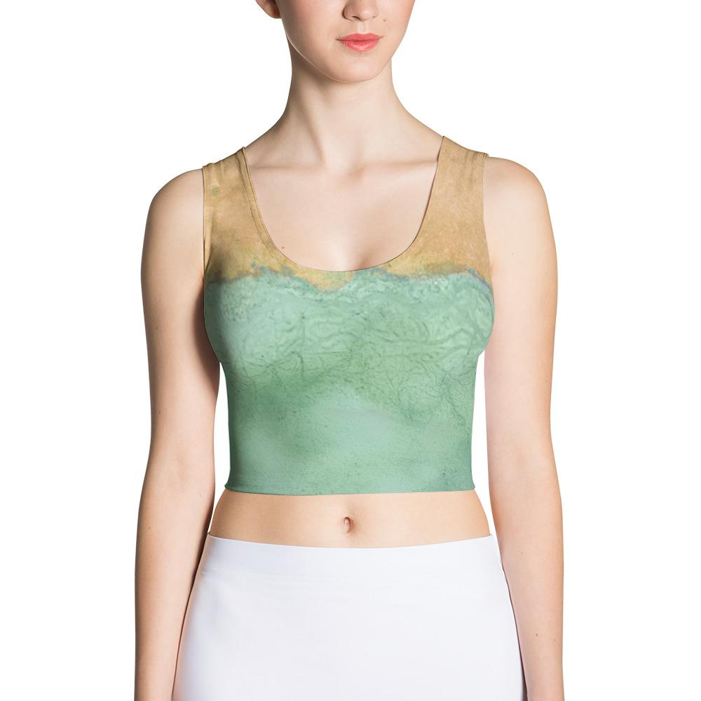 Shoreline Sublimation Cut & Sew Crop Top