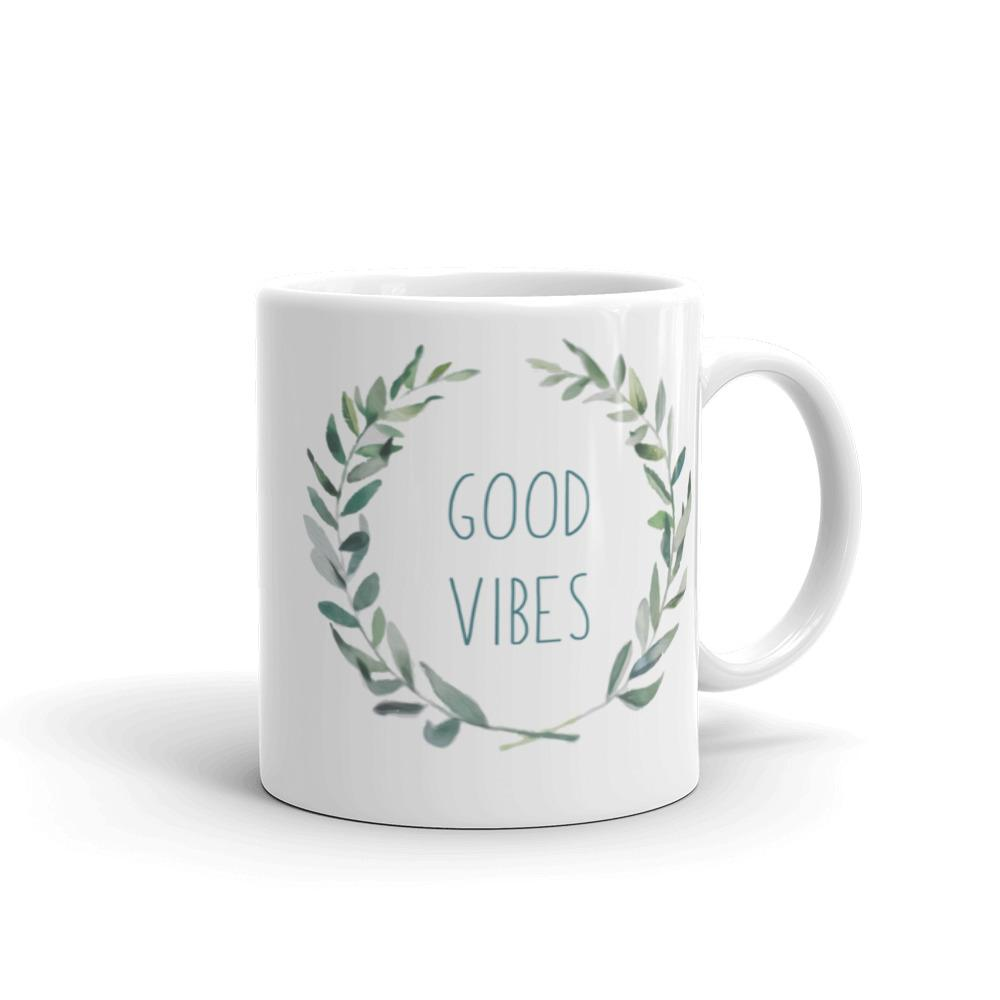 Good Vibes Mug made in the USA